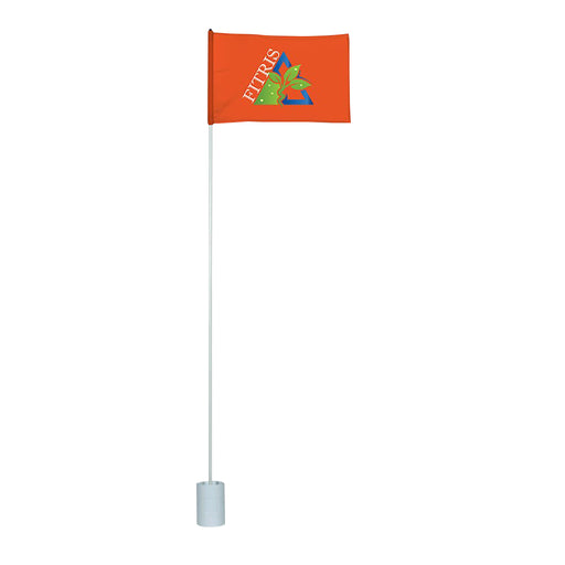 Promotional Custom Printed Golf Flag, Pole & Cup Kit