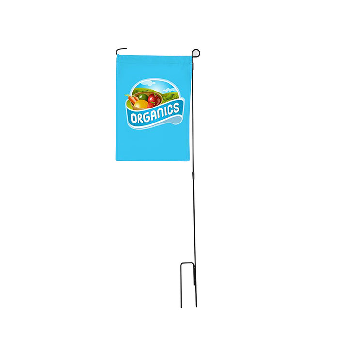 Promotional Custom Garden Flag & Pole Kit