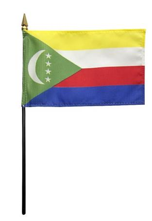 Mini Comoros Flag for sale