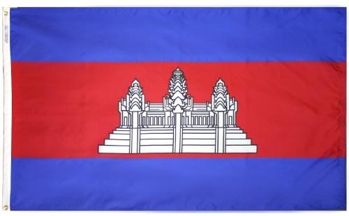 Cambodia Outdoor Flag for Sale