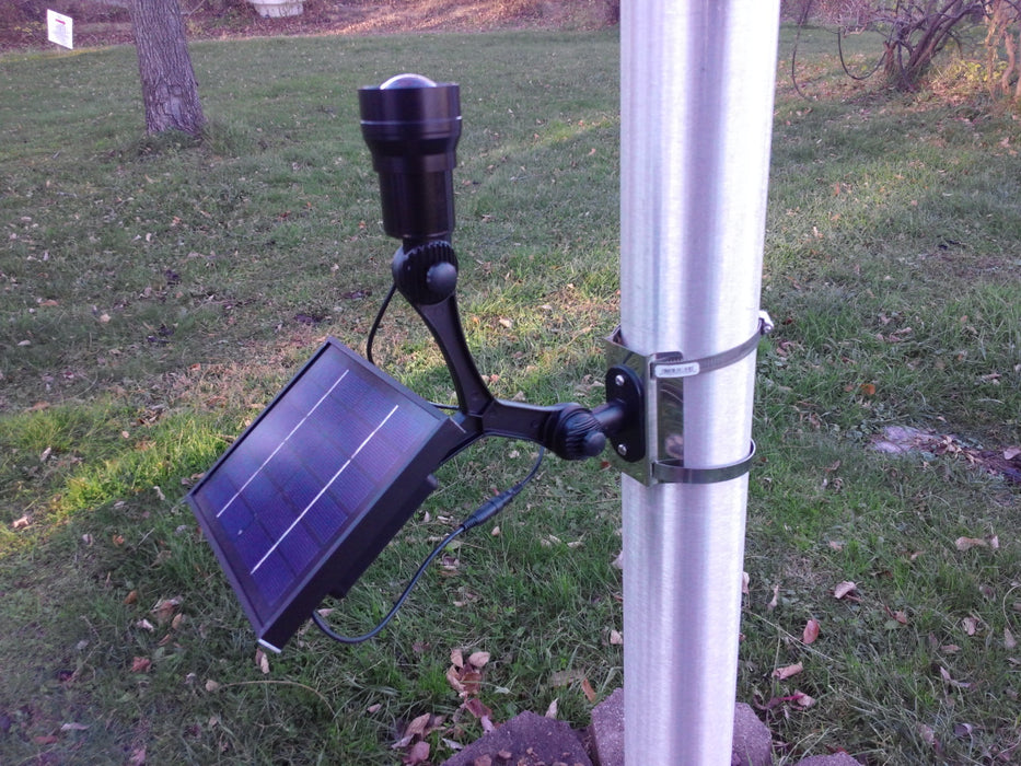 solar flagpole light for sale - flagman of america