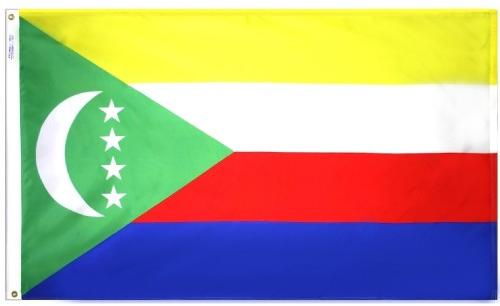 Comoros Outdoor Flag for Sale