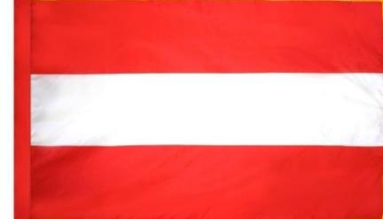 Austria indoor flag for sale