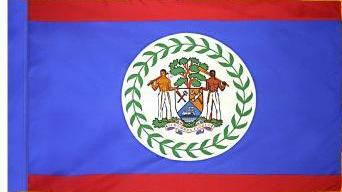 Belize Indoor Flag for sale