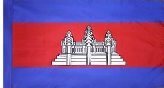 Cambodia Indoor Flag for sale