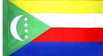 Comoros Indoor Flag for sale