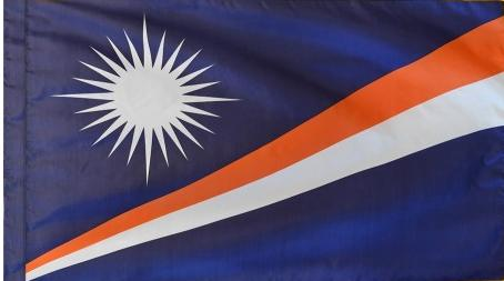Marshall Islands Indoor Flag for sale