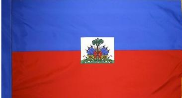 Haiti Indoor Flag for sale
