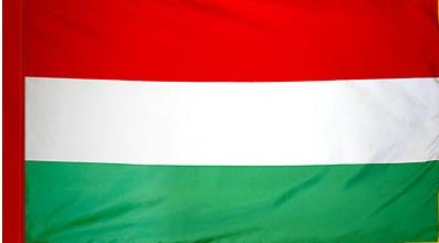 Hungary Indoor Flag for sale