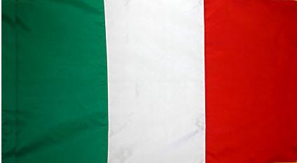 Italy Indoor Flag