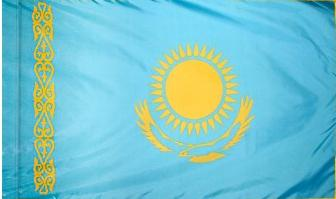 Kazakhstan Indoor Flag for sale