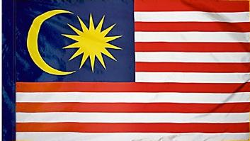 Malaysia Indoor Flag for sale