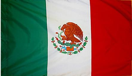 Mexico Indoor Flag for sale
