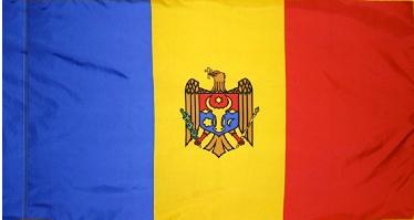 Moldova Indoor Flag for sale