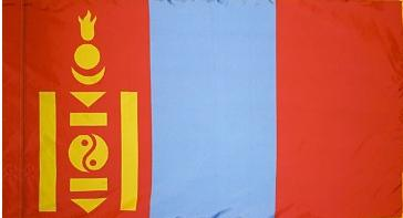 Mongolia Indoor Flag for sale