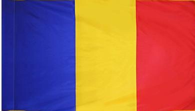 Romania Indoor Flag for sale