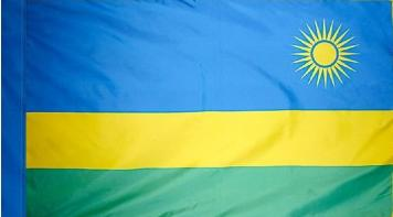 Rwanda Indoor Flag for sale