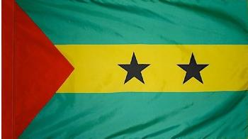 Sao Tome & Principe indoor flag for sale