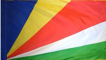 Seychelles Indoor Flag for sale