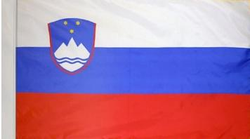 Slovenia Indoor Flag for sale