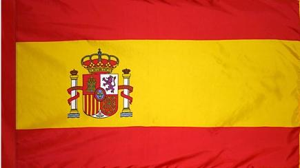 Spain Government Indoor Flag for sale