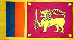 Sri Lanka Indoor Flag for sale