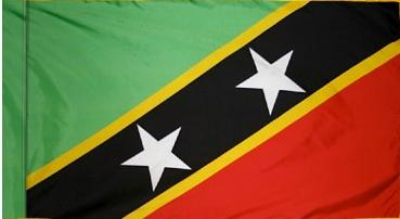 St Kitts & Nevis Indoor Flag for sale