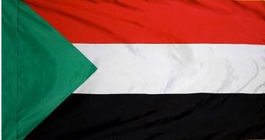 Sudan Indoor Flag for sale