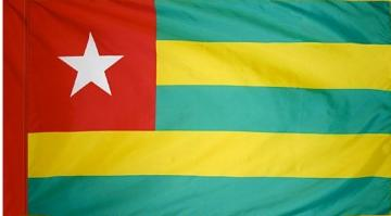 Togo Indoor Flag for sale