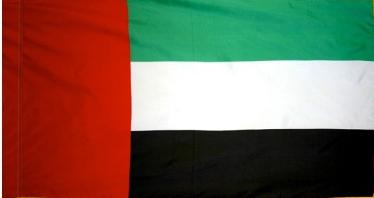 United Arab Emirate Indoor Flag for sale