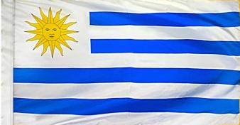 Uruguay Indoor Flag for sale