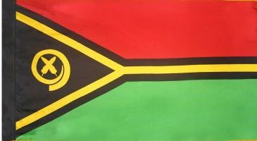 Vanuatu Indoor Flag for sale