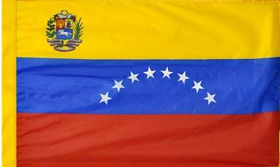Venezuela Government Indoor Flag for sale