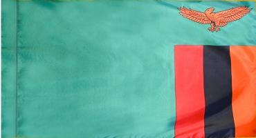 Zambia Indoor Flag for sale