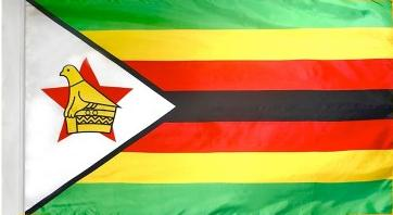 Zimbabwe Indoor Flag for sale