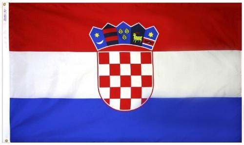 Croatia Outdoor Flag for Sale