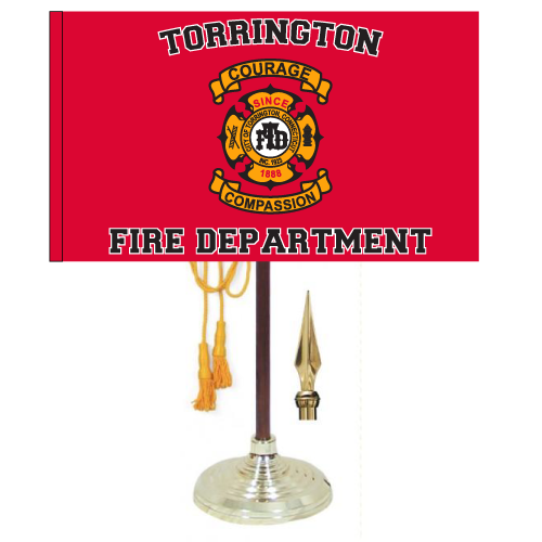Custom Printed Indoor/Parade Flag Single Reverse