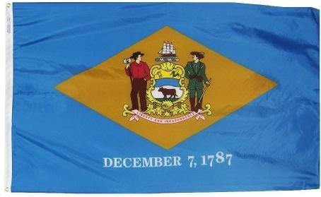 Delaware Flag For Sale - Commercial Grade Outdoor Flag - Made in USA