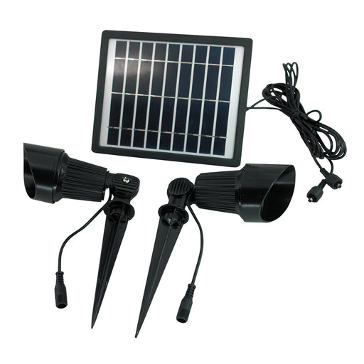 Dual Solar Spot Light Kit