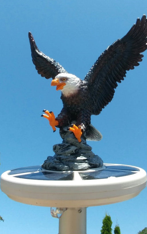 Hand Painted Eagle Topper