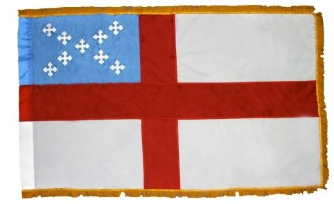 Indoor Episcopal Flag With Fringe for sale