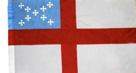 Indoor Episcopal Flag for Sale - Parade Episcopal Flag for Sale