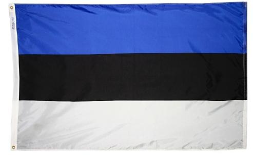 Estonia Outdoor Flag