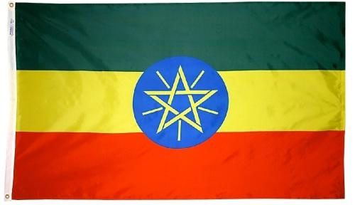 Ethiopia Outdoor Flag