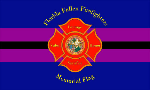 Florida Firefighter Memorial Flag