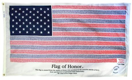 flag of honor outdoor flag for sale