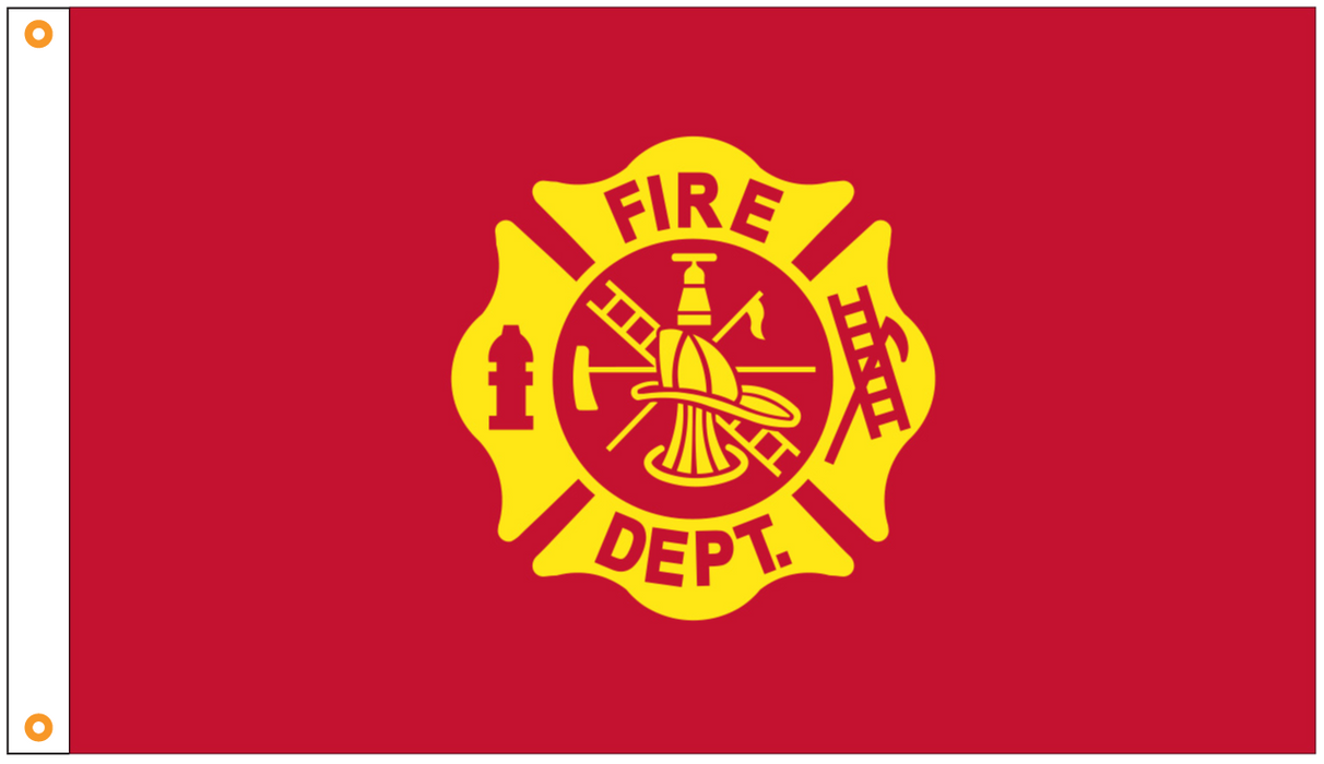 Fire Fighter Flags | Firefighter Flags | Thin Red Line Flags for Sale | Loyal To Our Duty Flag | Fire Dept Flag