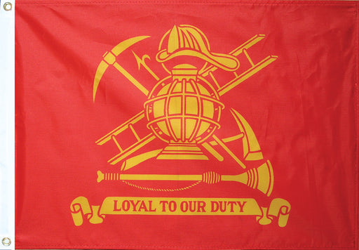 Outdoor Fire Fighter Flag