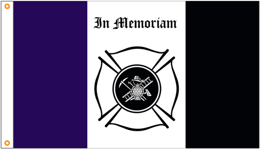 Fire Fighter Flags | Firefighter Flags | Thin Red Line Flags for Sale | In Memoriam Flag