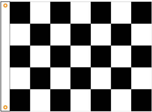 Sewn Outdoor Checkered Flag